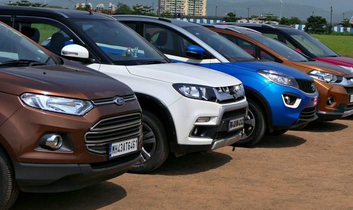Tata-Nexon-vs-Ford-Ecosport-vs-Maruti-Vitara-Brezza-vs-Honda-WRV-